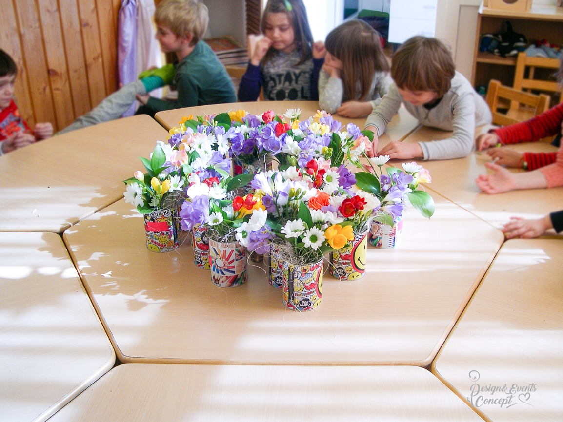 Atelier floral Saptamana Altfel Gradinita Waldorf