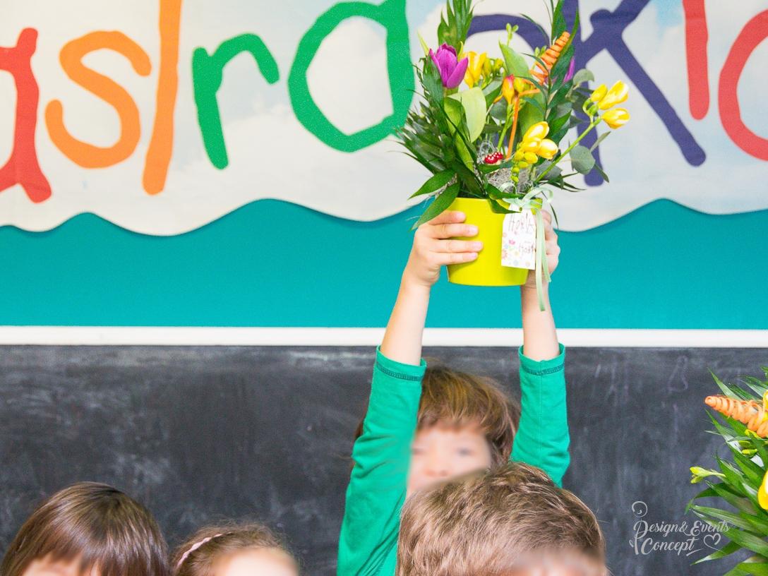 Atelier floral de 8 martie FasTracKids