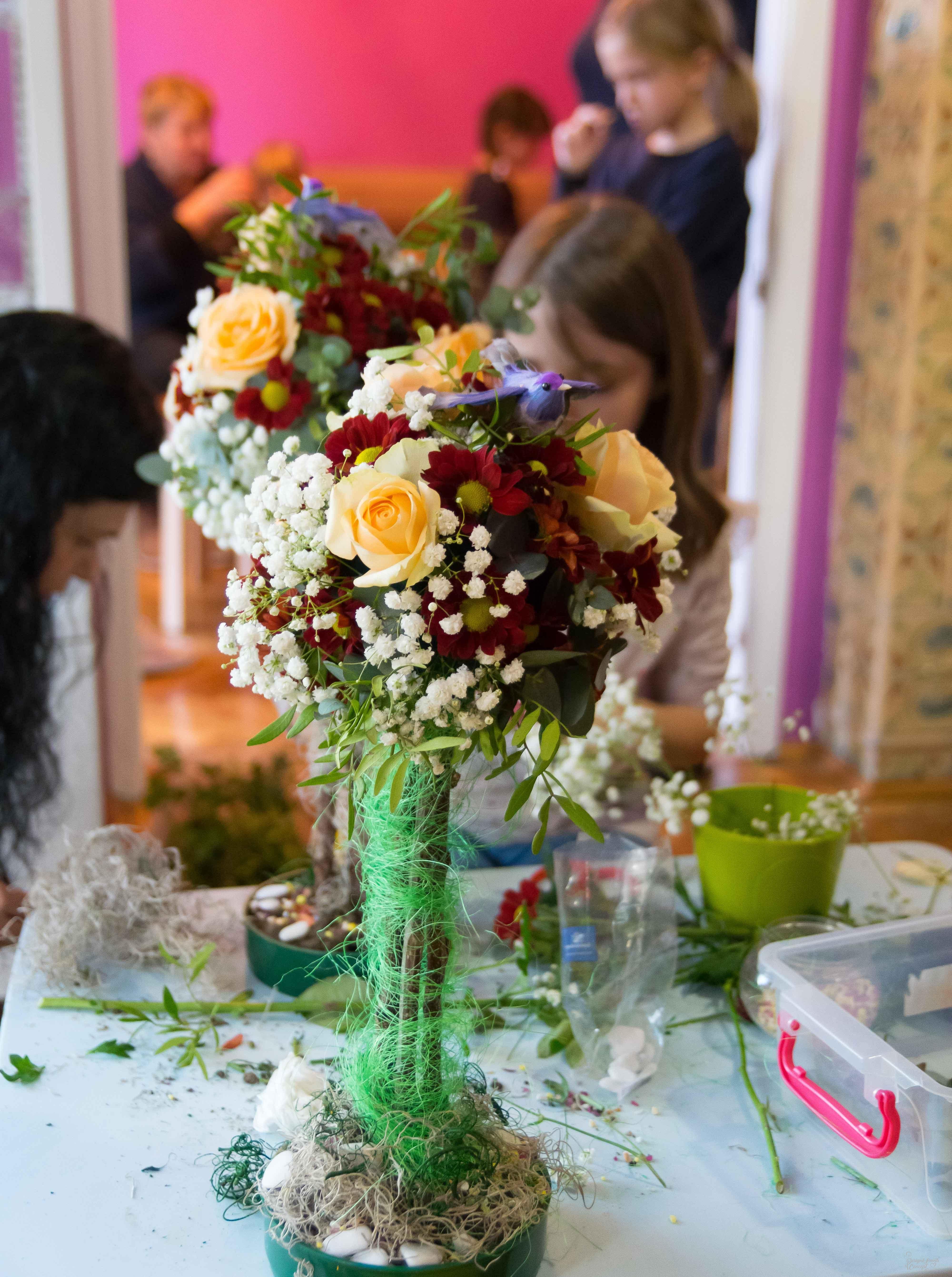 Atelier pomisor floral