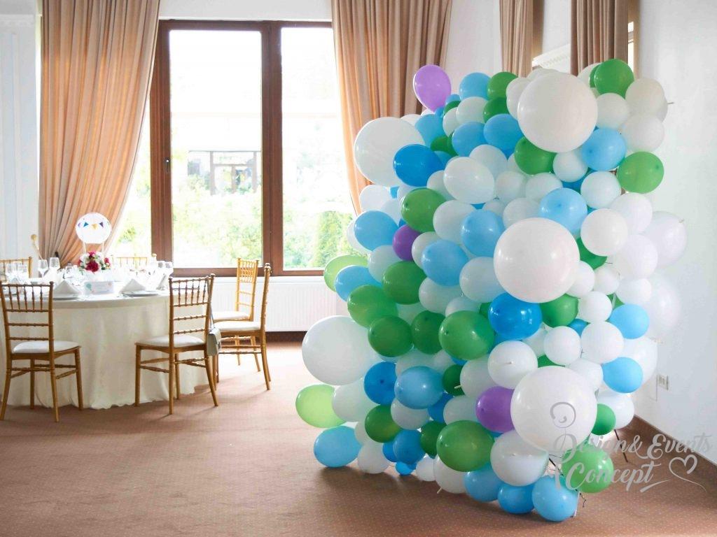 Panou baloane, perete pentru photo corner la evenimente.