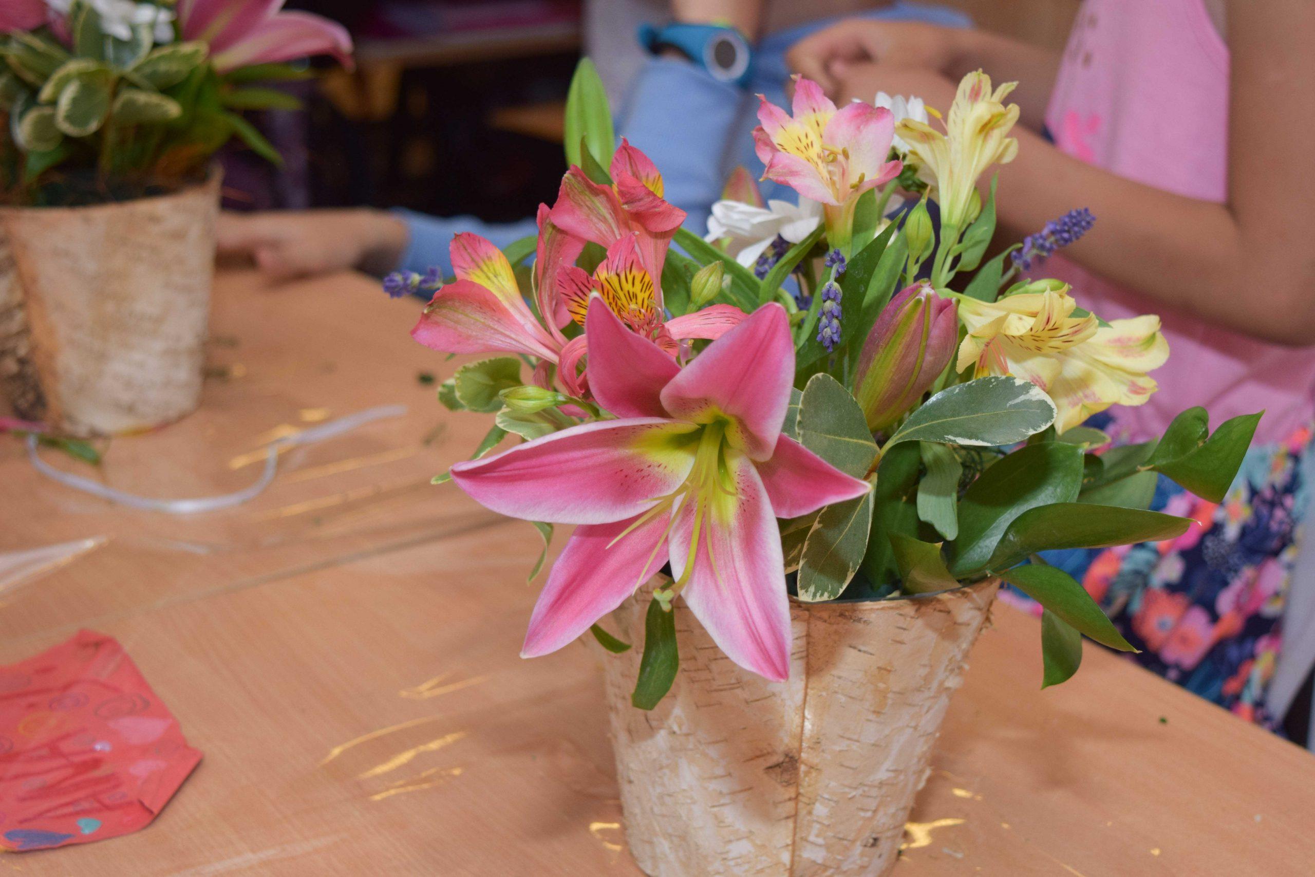 Atelier Floral Saptamana Altfel – Scoala ITA Wegman