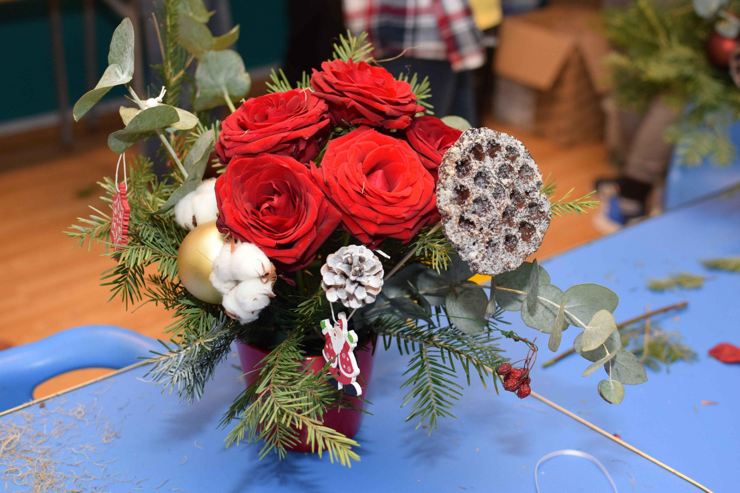 Atelier floral de Craciun